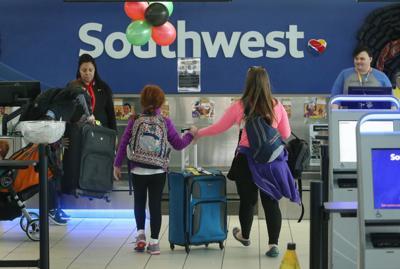 Southwest check-in at Lambert