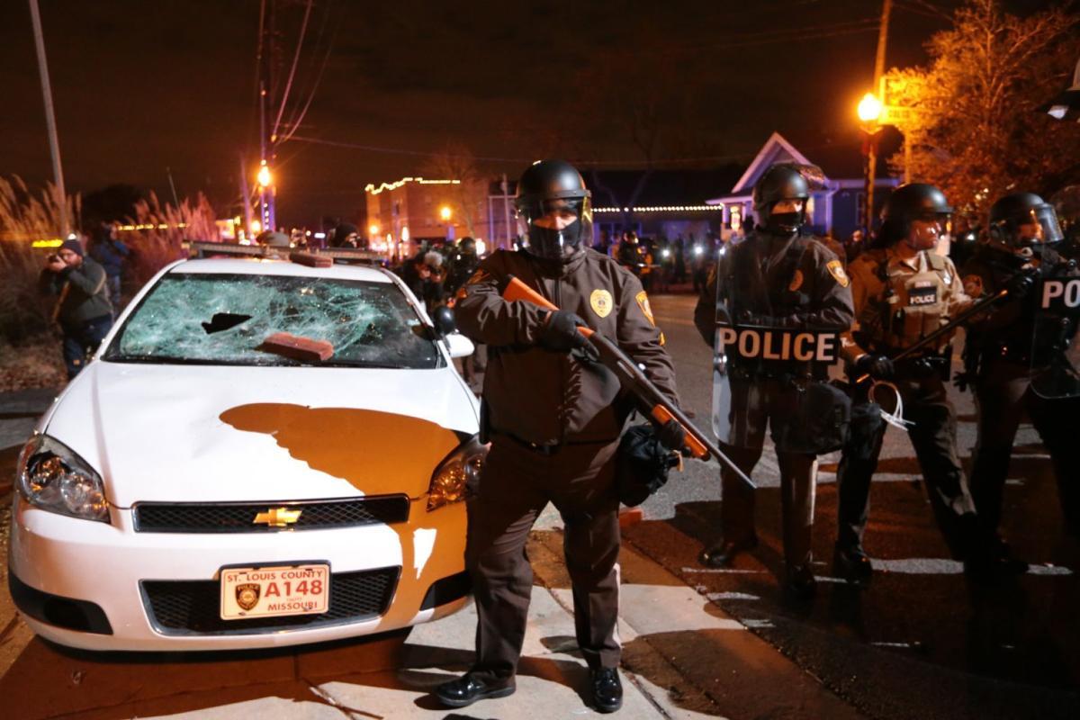Protest in Ferguson