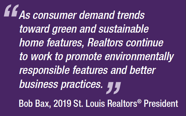 Consumers continue interest in sustainable home features