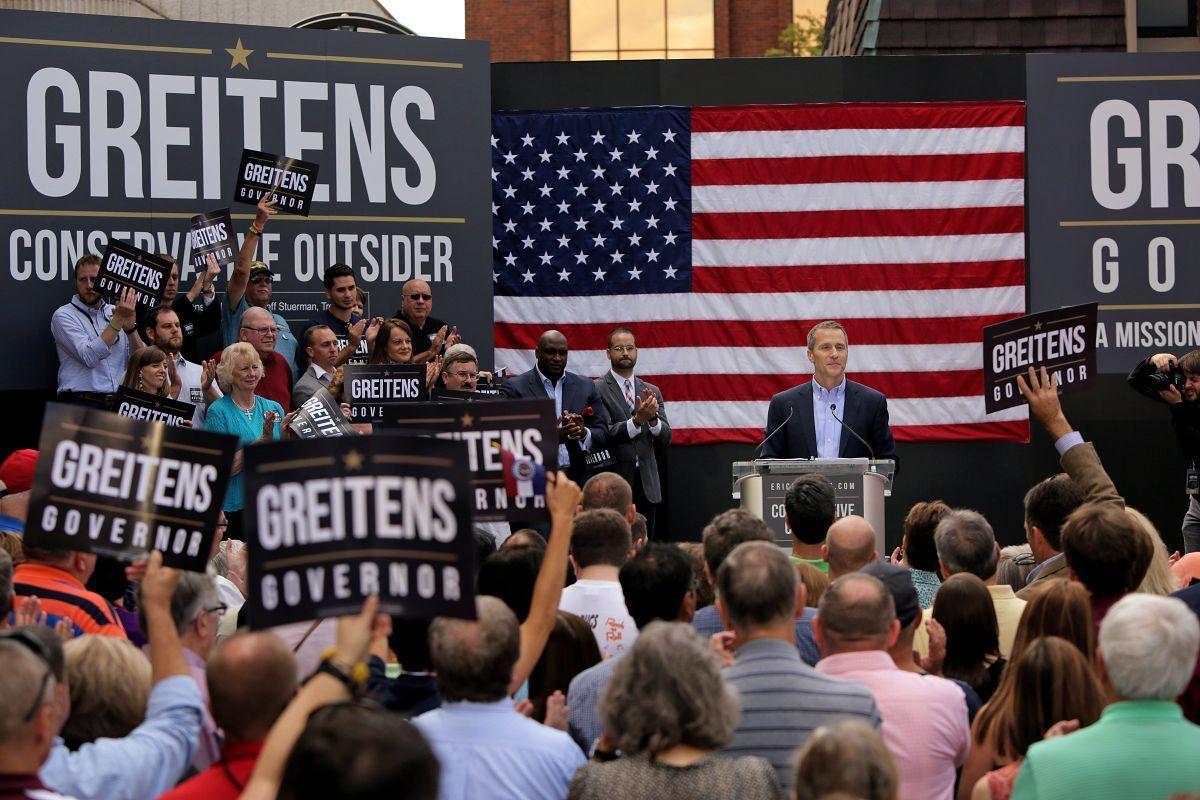 Eric Greitens running for Missouri governor