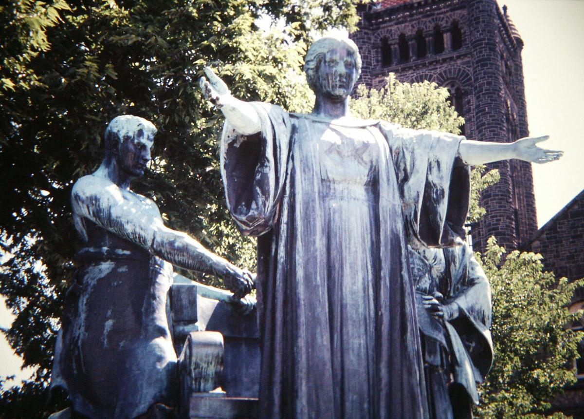 Statue at University of Illinois