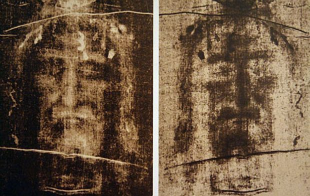 Images from the Shroud of Turin