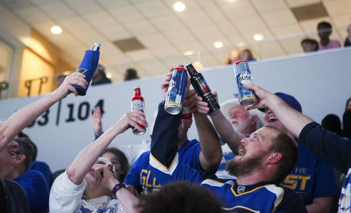 Stanley Cup: Fans watch Game 7 at Enterprise Center