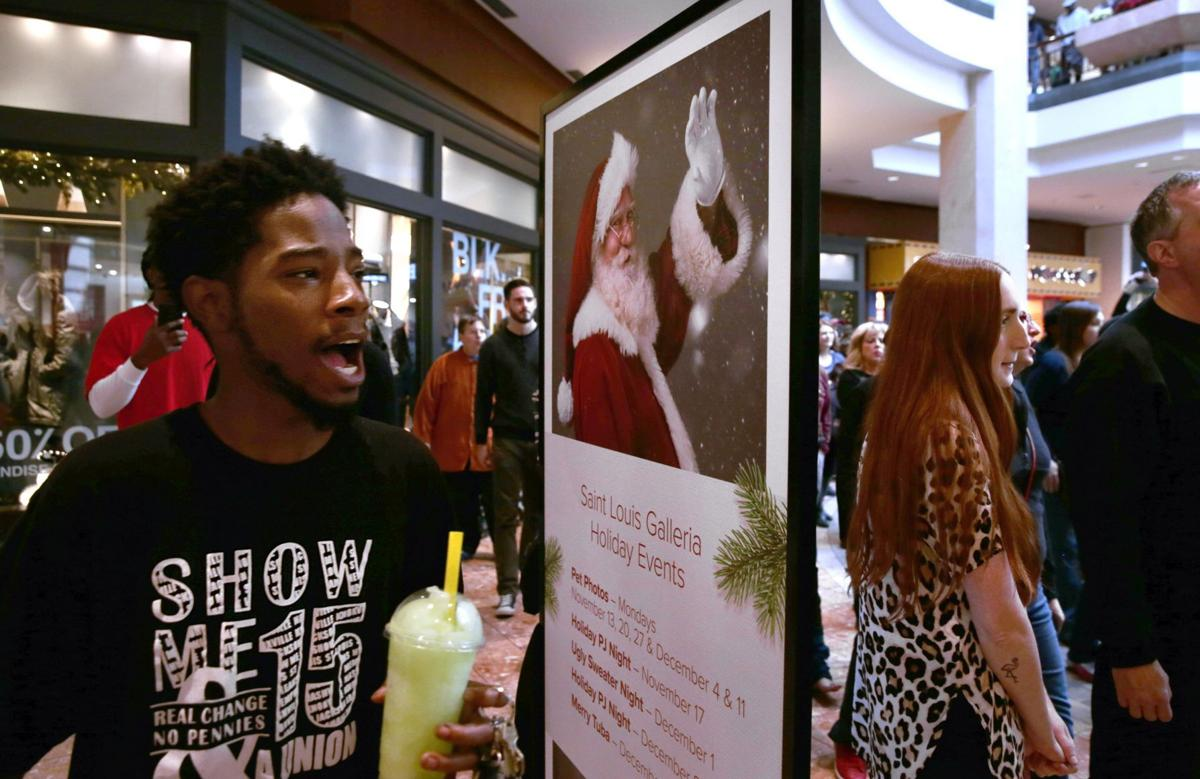 Arrests made during Galleria Black Friday protests