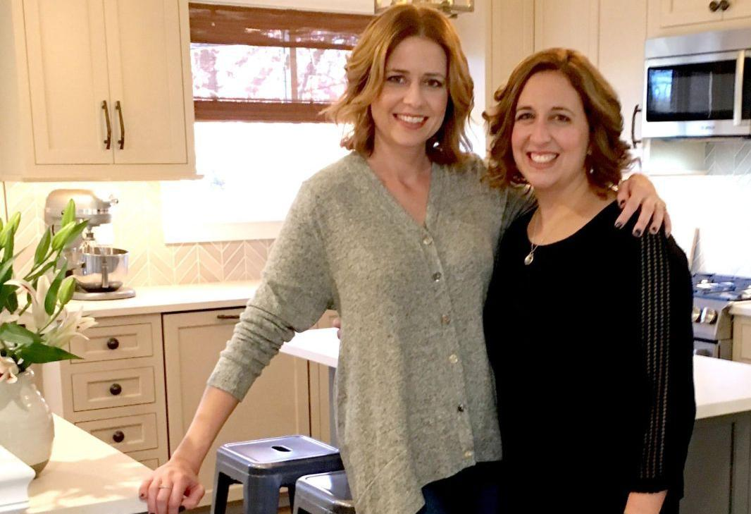 Jenna Fischer gives a makeover to her sister's St  Louis