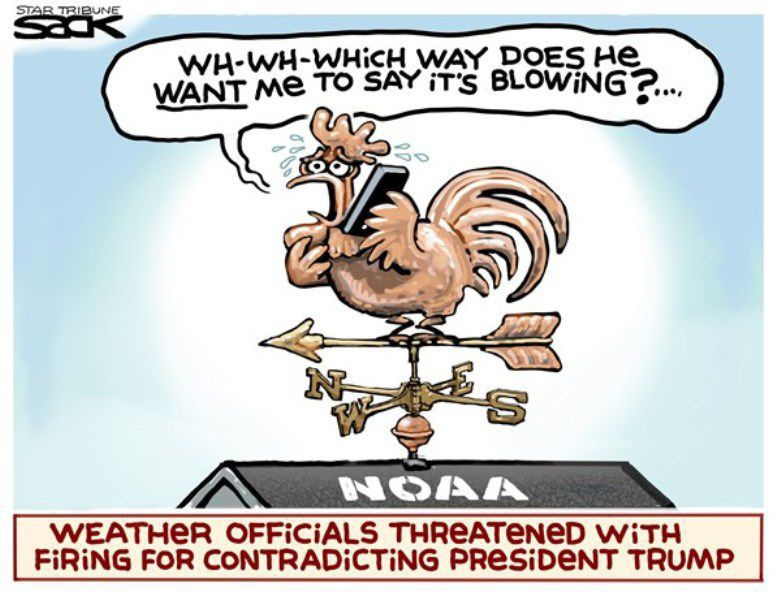 In the cartoons: NOAA; Vaping; Biden