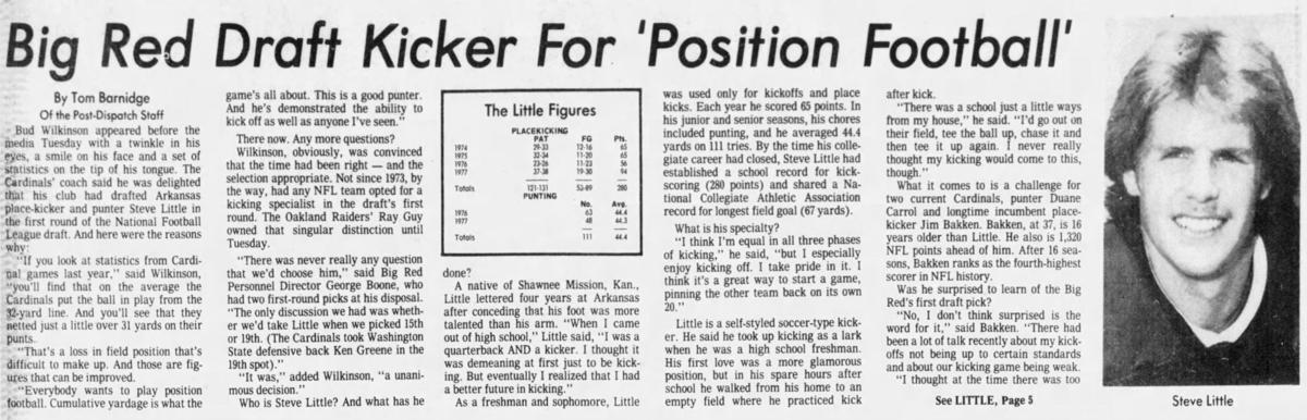 1978: Steve Little