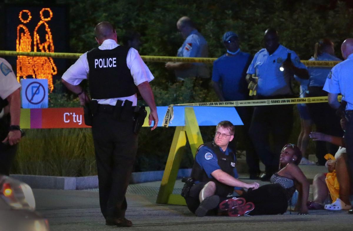Shooting injures three people at Citygarden