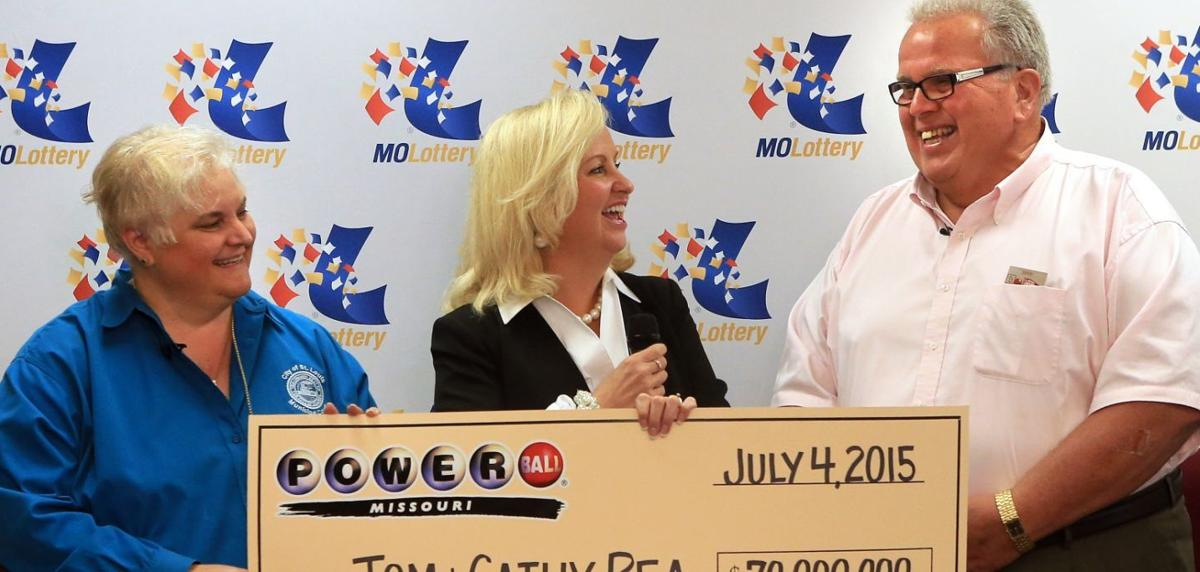 Tom and Cathy Rea, Lotto Winners