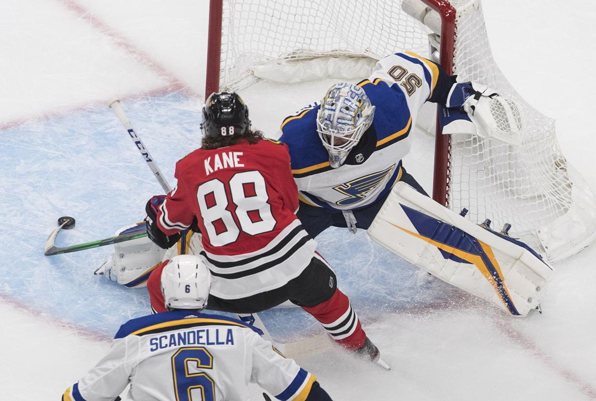 Blackhawks Blues Hockey