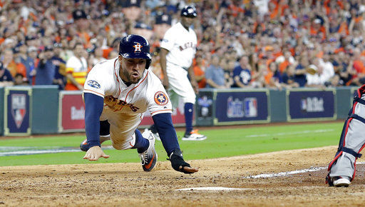 e77b04858 Astros blast four home runs in opening win over Indians
