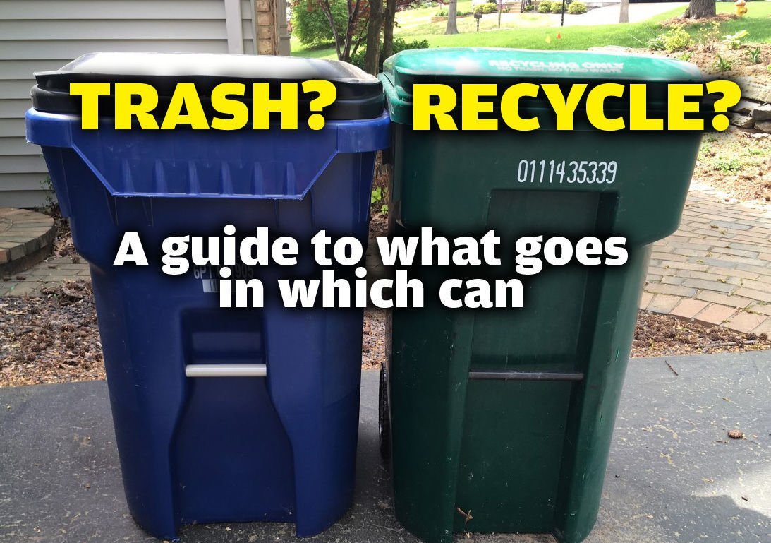 Trash or recycle?