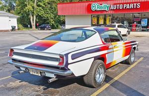 Randy Edwards' 1967 Plymouth Barracuda was a teenage crush!.