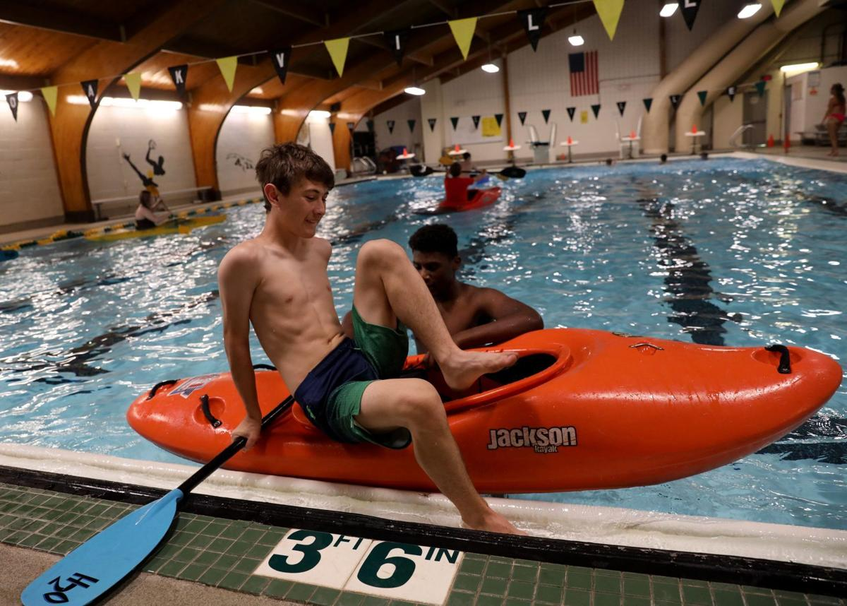 Mehlville students learn kayaking in Adventure and Outdoor Pursuits elective