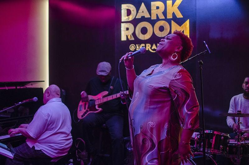 Anita Jackson at the Dark Room