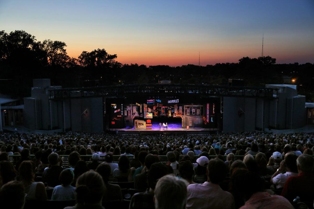 The Muny's new stage debuts with 'Guys and Dolls' for 101st season