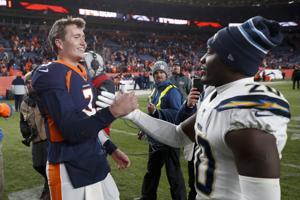 Drew Hilfslinien Sperren Denver zum Sieg in seinem NFL-Debüt