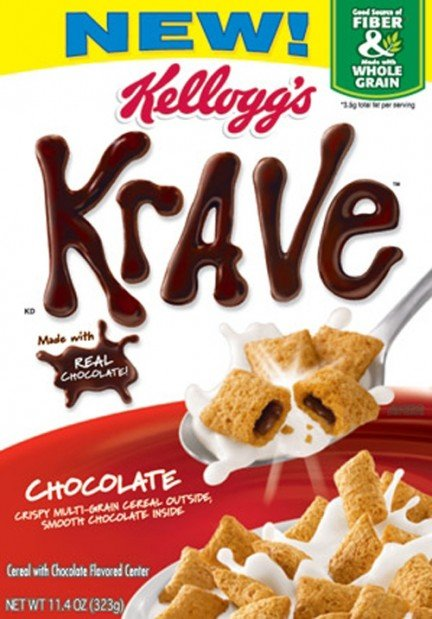 Krave Chocolate Cereal Calorie