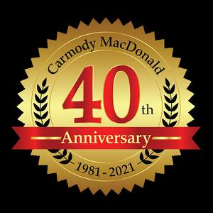 40th Anniversary Badge