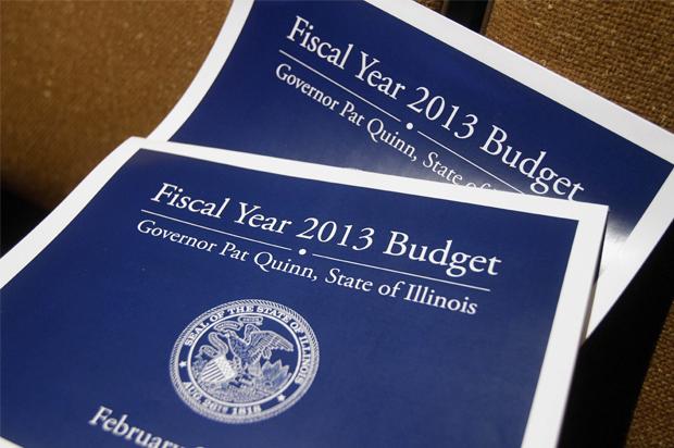 Copies of Illinois budget