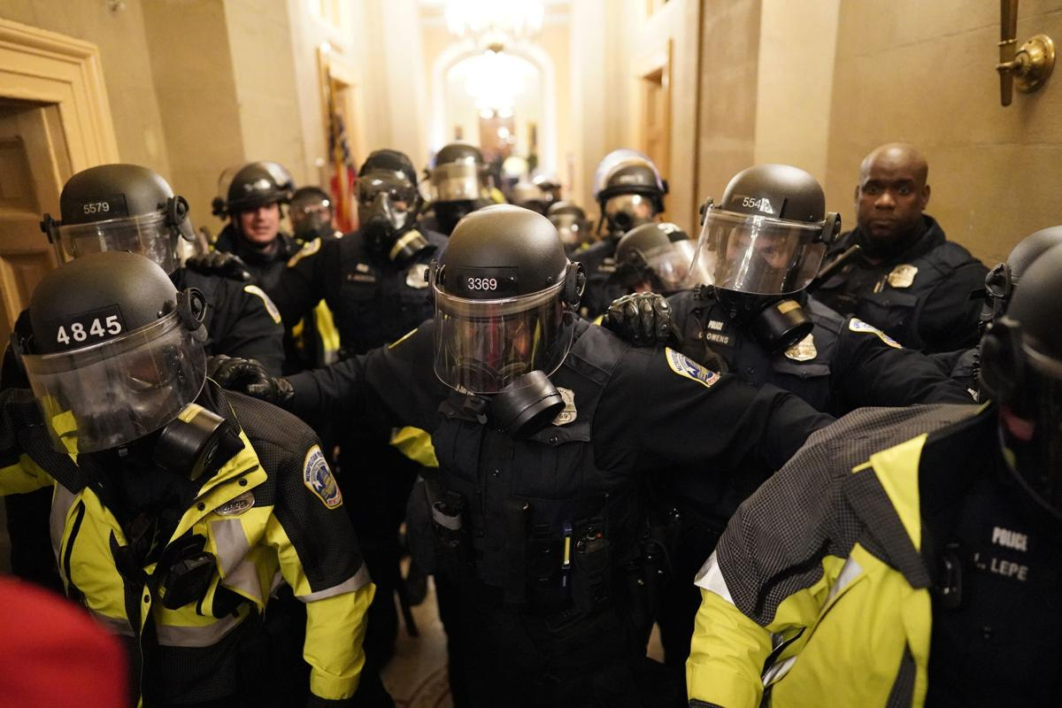 Jan. 6 Capitol riot police
