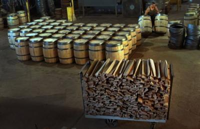 Rolling out the barrels in Cuba
