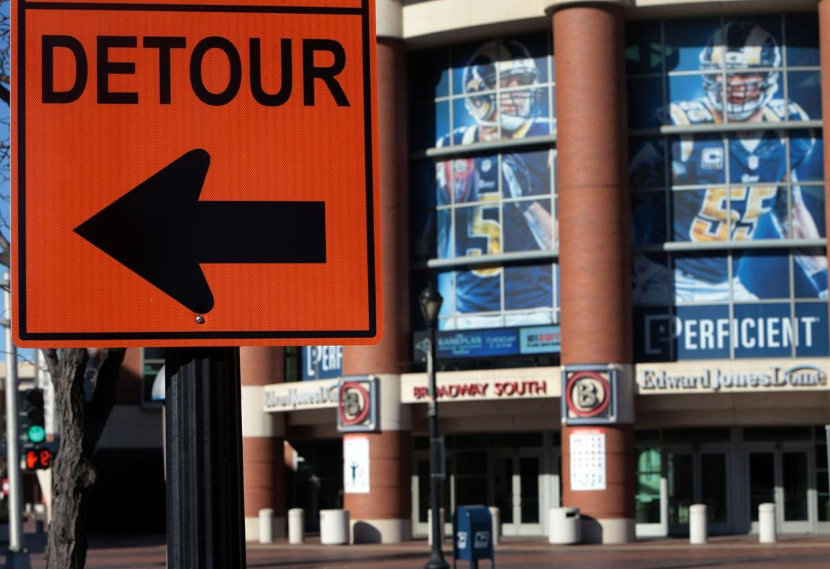 Detour sign takes on new meaning