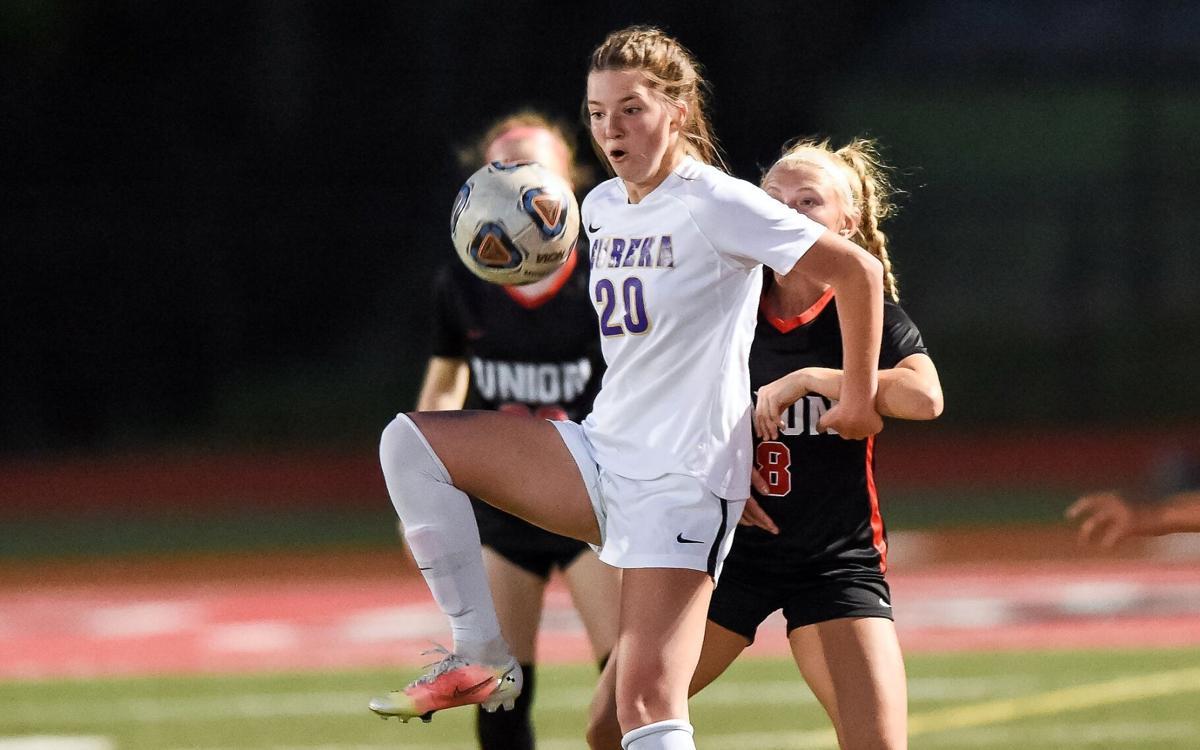 Union vs. Eureka girls soccer