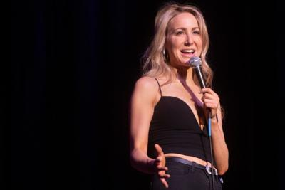 Nikki Glaser at the Pageant