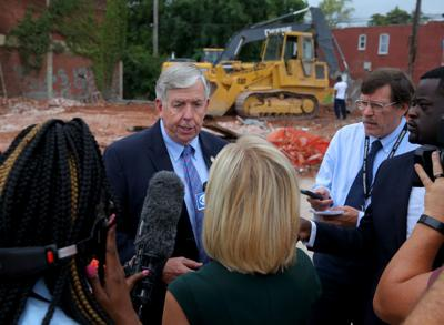 Gov. Parson in St. Louis