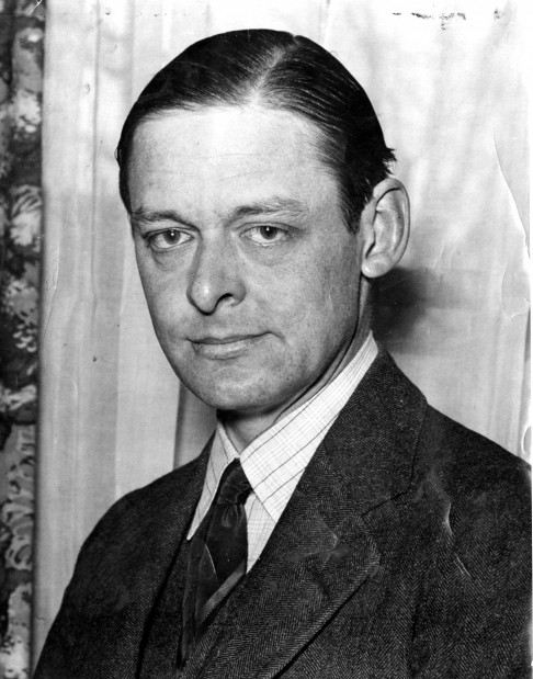 Look Back:  T.S. Eliot, 1933