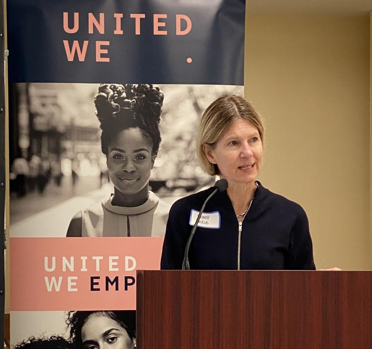 Wendy Doyle, United WE