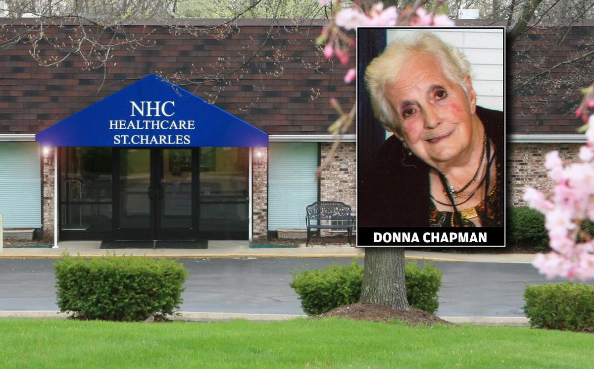 Donna Chapman with nursing home