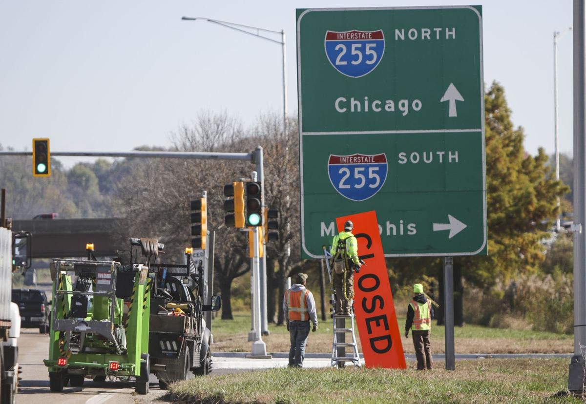 Interstate 255 Reopening in East St. Louis