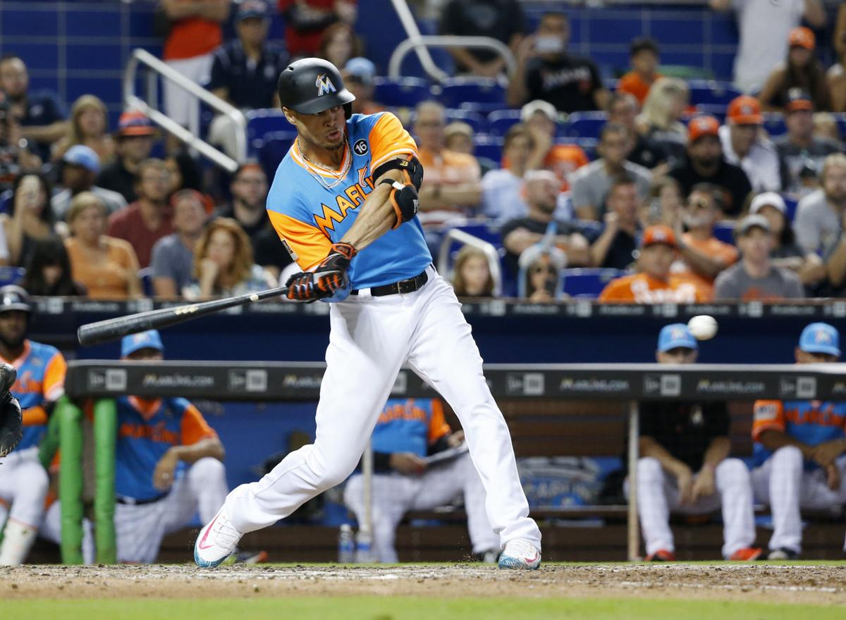 Benfred miami report reveals marlins plan trade stanton keep padres marlins baseball malvernweather Images