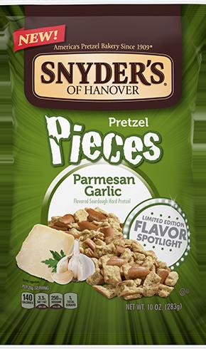 Snyder's Parmesan Garlic Pretzel Pieces