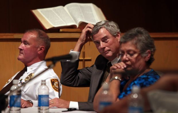 Robert McCulloch at forum on the death of Michael Brown