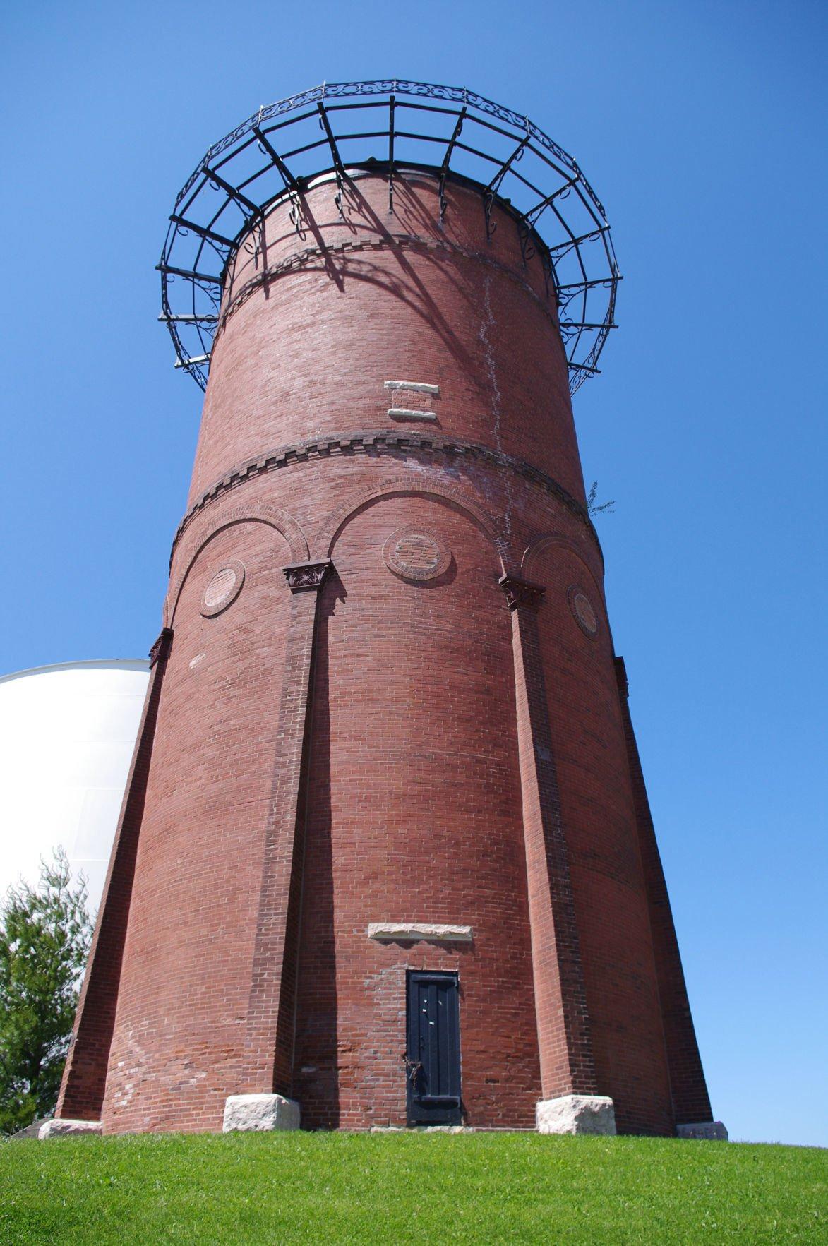 Water tower at Lindenwood University