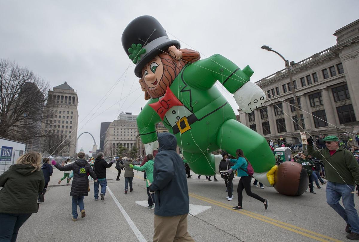 49th Annual St. Patrick's Day Parade in downtown St. Louis