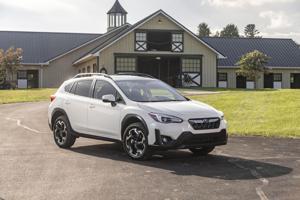 2021 Subaru Crosstrek: Finally, Subie's tiny crossover offers an upgraded engine option.
