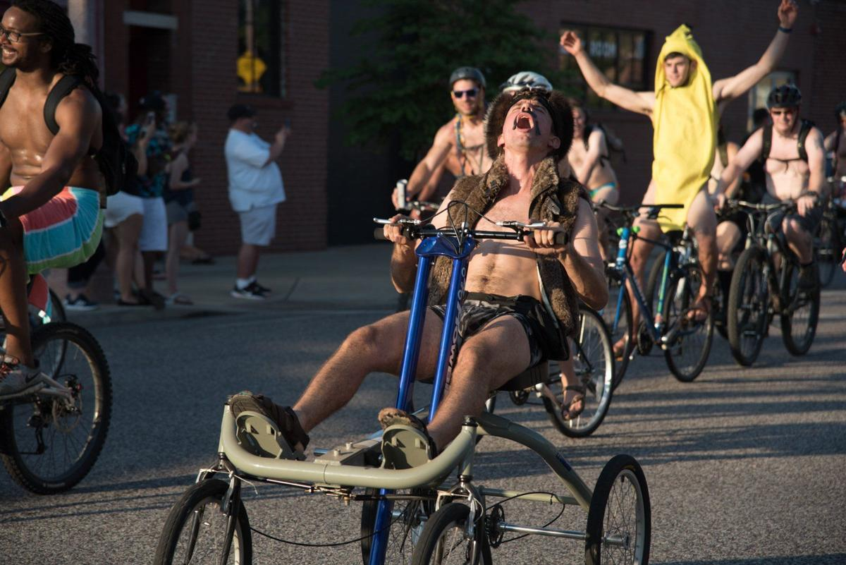 world naked bike ride hits the streets of st louis entertainment. Black Bedroom Furniture Sets. Home Design Ideas