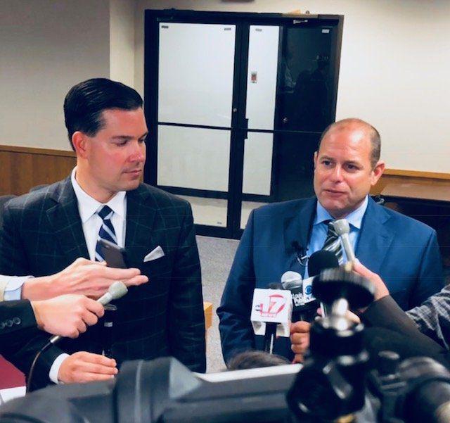 Attorneys Edward Greim and Ross Garber
