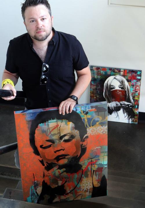 Made in St. Louis: Painter uses imagination he honed as a boy to create art