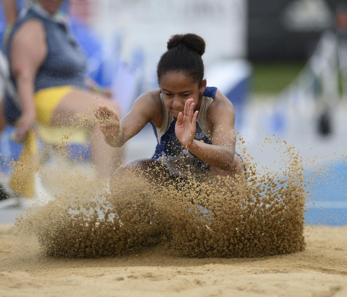 Class 1A girls track and field state championship