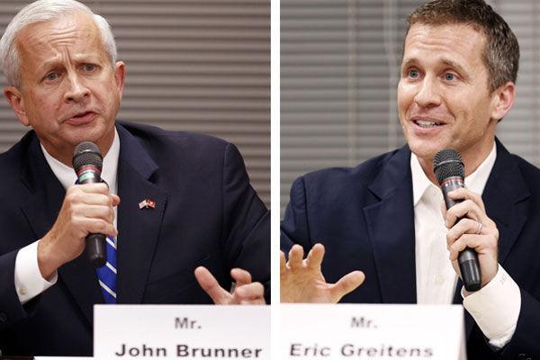 John Brunner and Eric Greitens