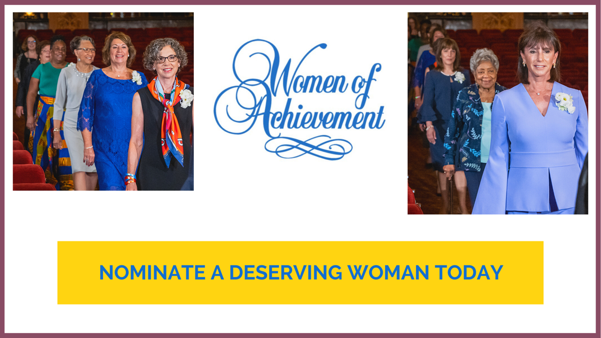 Women of Achievement: Call for Nominations, now - March 19, 2021