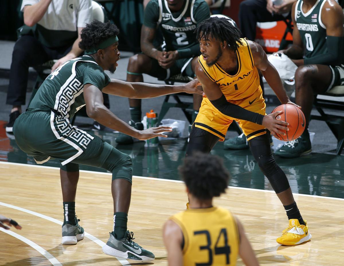 Oakland Michigan St Basketball