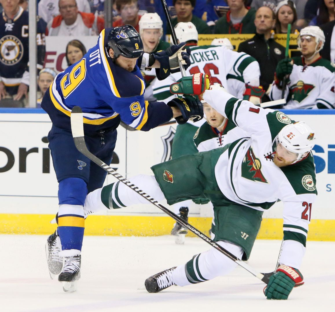 low cost 609a4 54aa7 Once a pest, Ott now an assistant coach for Blues | St ...