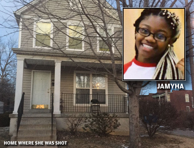 Shot that killed St  Louis girl, 14, may have been