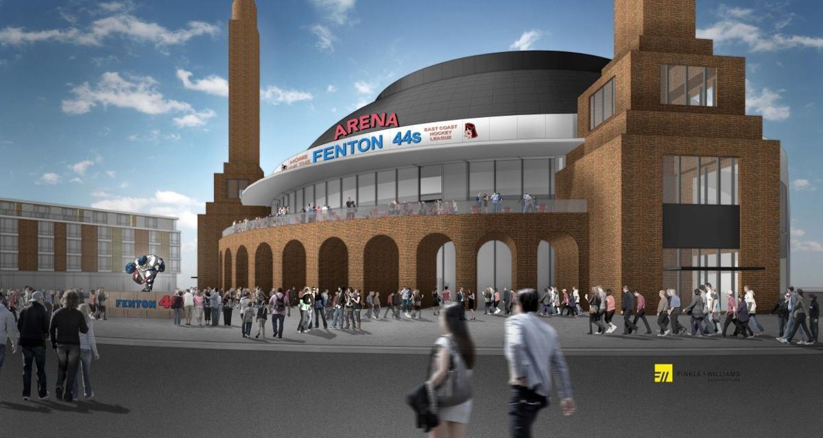 Fenton Arena Rendering